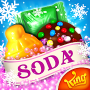 App Icon for Candy Crush Soda Saga App in United States Google Play Store