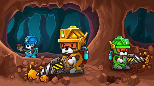 Popo's Mine - Idle Mineral Tycoon 1.4.4 screenshots 1
