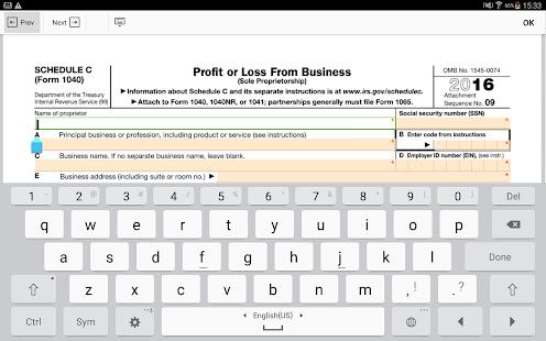 PDF Form 1040 Schedule C: Sign Income Tax eForm