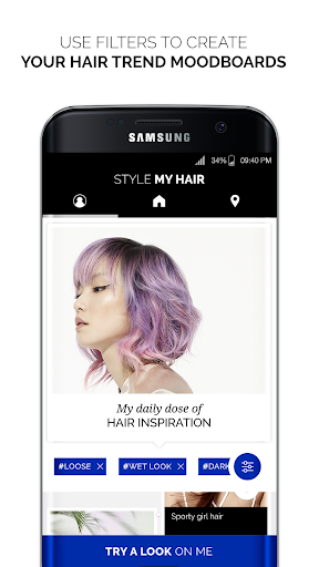 Style My Hair: Discover Your Next Look modavailable screenshots 1