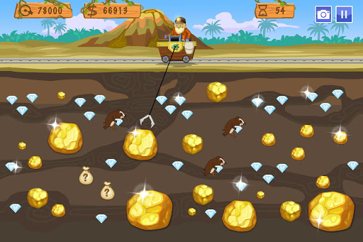 Gold Miner World Tour: Gold Rush Puzzle RPG Game apktram screenshots 1