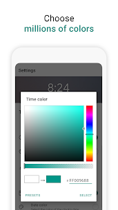 Digital Clock Widget 4