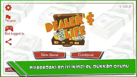 Dealers Life Lite İkinci El Dükkanı İşletme Hileli Apk Güncel 2021** 1