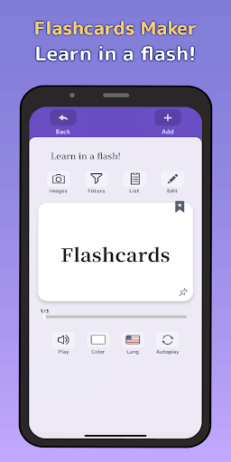 Flashcards Maker  screenshots 1