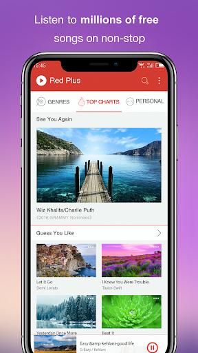Free Music - Red Plus 1.89 Screenshots 4