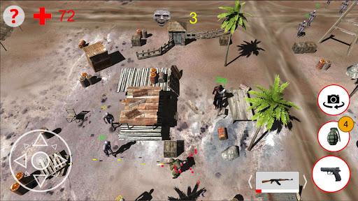 shooting zombies free game screenshot 1