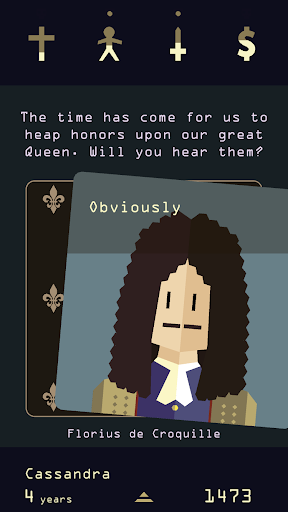 Reigns: Her Majesty  screenshots 1