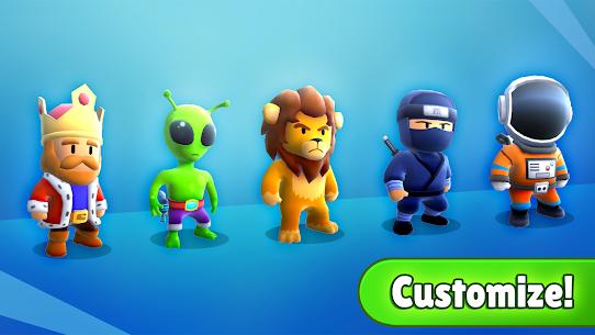Stumble Guys Mod Apk Unlocked All Skins Latest Version-Download 5