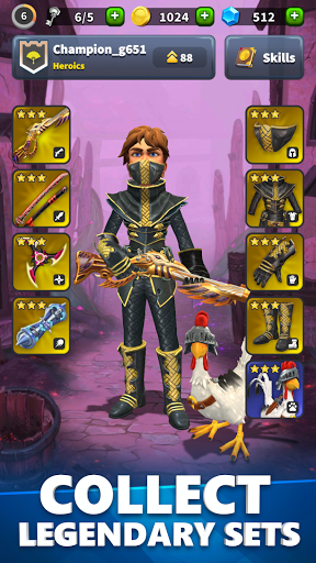 Heroics: Epic Fantasy Legend of Archero Adventures 1.9.4463 screenshots 1