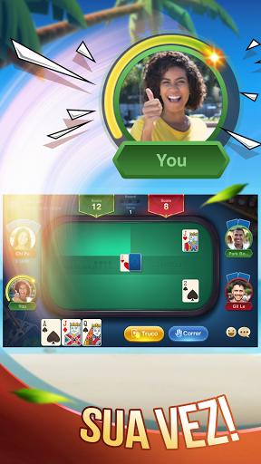 Truco ZingPlay: Jogo de cartas online gru00e1tis 2.2 Screenshots 1