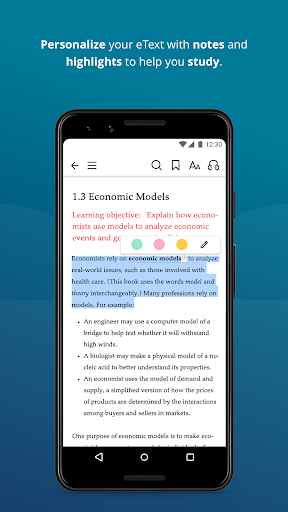 Pearson eText modavailable screenshots 4