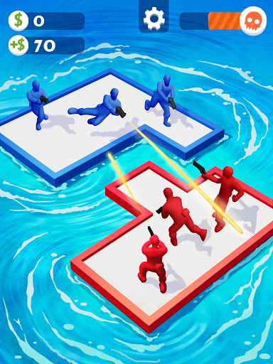 War of Rafts: Crazy Sea Battle  screenshots 9