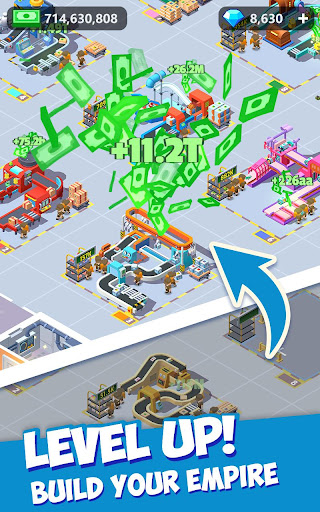 Idle Courier Tycoon - 3D Business Manager android2mod screenshots 2