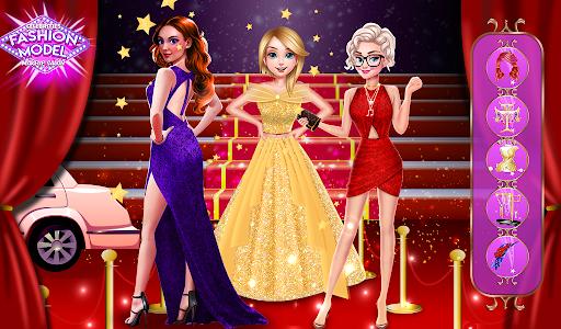 super stylist dress up: New Makeup games for girls Apkfinish screenshots 14