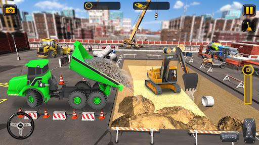 Heavy Construction Simulator Game: Excavator Games 1.0.1 screenshots 4