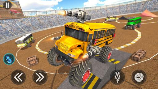 Monster Bus Derby - Bus Demolition Derby 2021 2.8 screenshots 11
