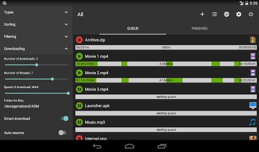Advanced Download Manager & Torrent downloader screenshots 9