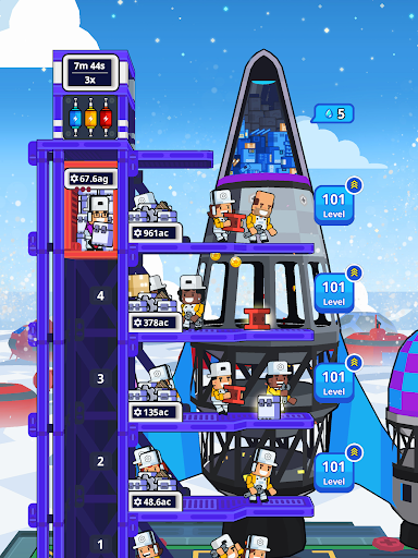 Rocket Star - Idle Space Factory Tycoon Game 1.45.0 screenshots 24