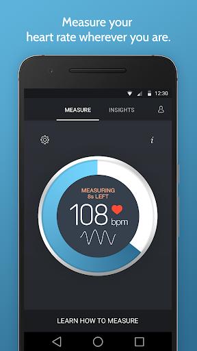 Instant Heart Rate: HR Monitor & Pulse Checker apktram screenshots 1