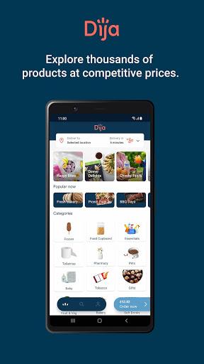 Dija: Groceries Delivered  screenshots 1