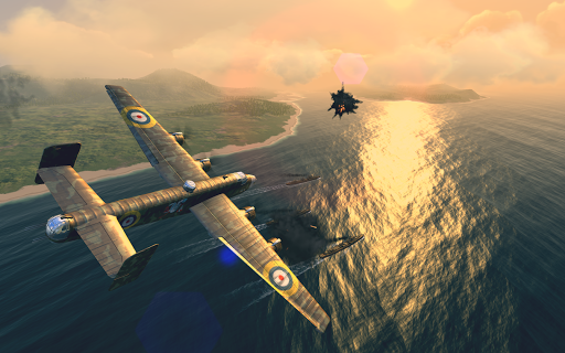 Warplanes: WW2 Dogfight  screenshots 11