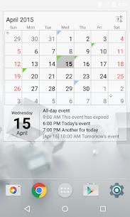 Calendar Widget Month + Agenda v1.32 [Unlocked] by IT Benefit 2