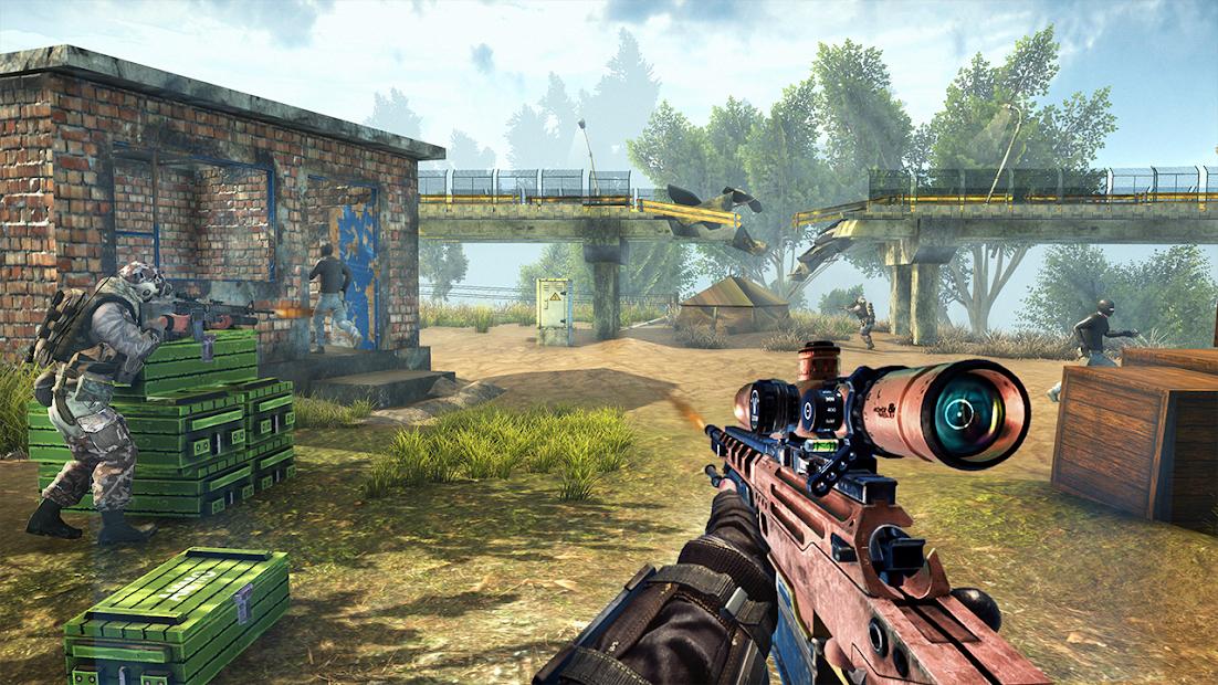 War Commando 3D - New Action Games 2021 screenshot 7