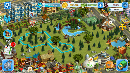 Eco City: new free building and town village games 1.0.453 screenshots 4