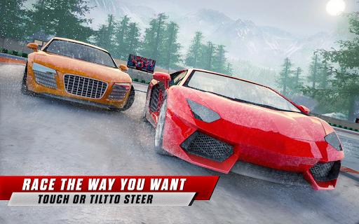 Snow Driving Car Racer Track Simulator  Screenshots 1