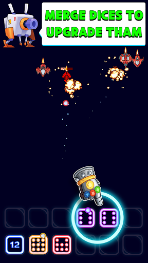 Télécharger Gratuit Merge Tower Defense: TD, Random Neon Dice PvP Game APK MOD (Astuce) screenshots 1