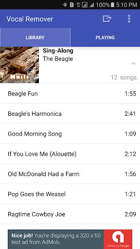 Vocal Remover for Karaoke 1.3.2 Screenshots 1