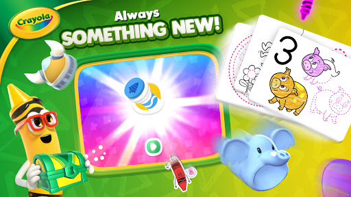 Crayola Create & Play: Coloring & Learning Games  screenshots 7