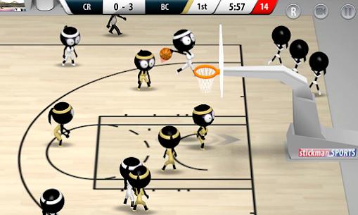Stickman Basketball 2017 Apk Download 5