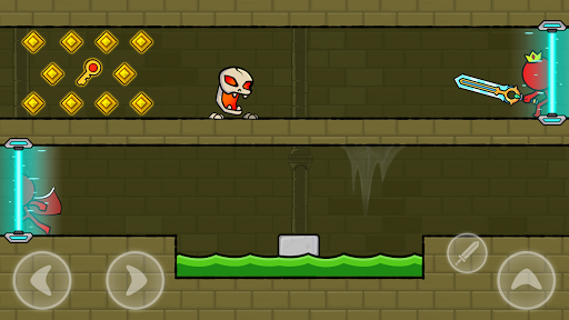 Red Stickman : Animation vs Stickman Fighting android2mod screenshots 6