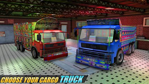 Indian Real Cargo Truck Driver - New Truck Games 1.52 screenshots 1