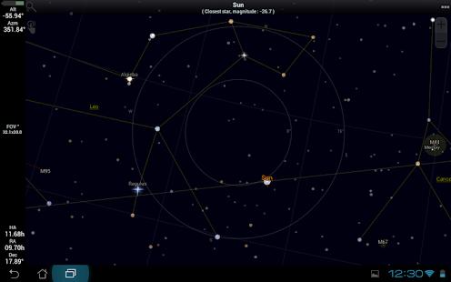 SkEye    Astronomy   Sky Map