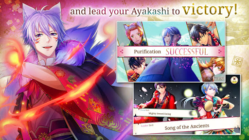 Code Triche Ayakashi: Romance Reborn - Supernatural Otome Game (Astuce) APK MOD screenshots 4