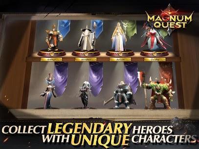 Magnum Quest Mod Apk 1.9.0.145269 (Unlimited Skill) 5