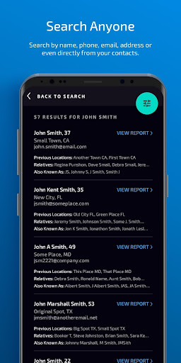 IdentityWatch (Background Check and People Search) 4.0 screenshots 2
