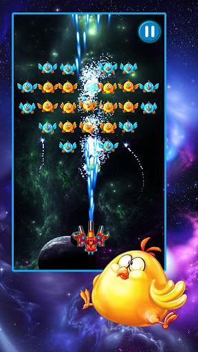 Chicken Shooter: Galaxy Attack New Game 2021 2.10 screenshots 1