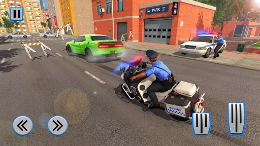 Police Moto Bike Chase Crime Shooting Games apktram screenshots 13