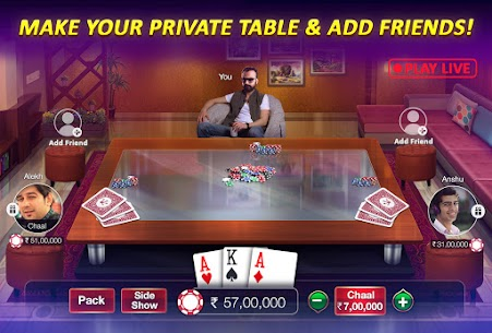 Teen Patti Gold APK – Free Download For Android 7