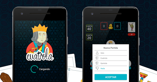Cuatrola Spanish Solitaire - Cards Game  screenshots 2