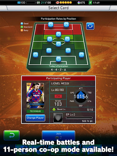 PES CARD COLLECTION modavailable screenshots 9