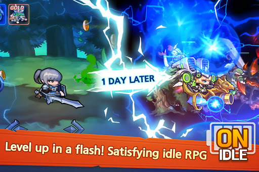 Raid the Dungeon : Idle RPG Heroes AFK or Tap Tap 1.10.2 screenshots 3