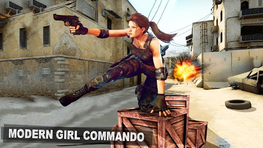 Modern Girl Commando: Free FPS Shooting Adventure Online Hack Android & iOS 1