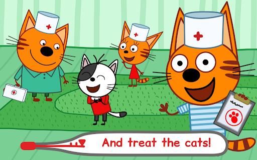 Kid-E-Cats Animal Doctor Games for Kidsu30fbPet Doctor  screenshots 18