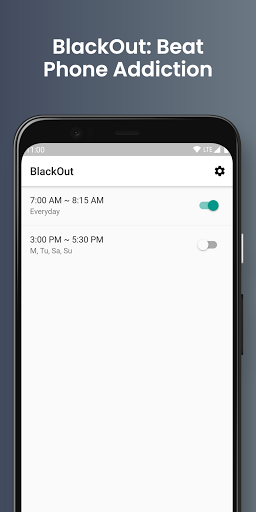 BlackOut: Stay Focused/Beat Phone Addiction 2.12.2 screenshots 1