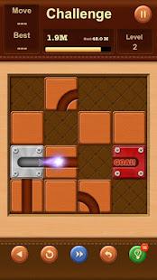 Unblock Ball: Slide Puzzle