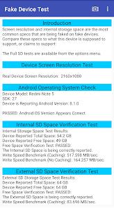 Fake Device Test 4.0
